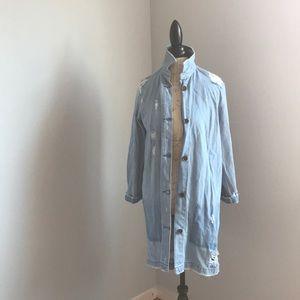 Distressed Denim Jacket by Zara